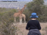 African hiking vacation Aberdares Central Kenya