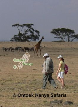 Eco tours on Crescent Island, Kenya