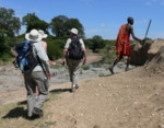 Africa walking safari reviews  Masai Mara