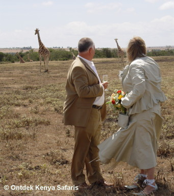 African weddings and honeymoons, Kenya