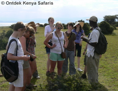 Kenya holiday safari with Wildlife biologist