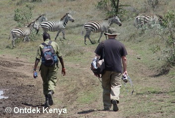 Travel for Seniors, Kenya, Africa walking safari