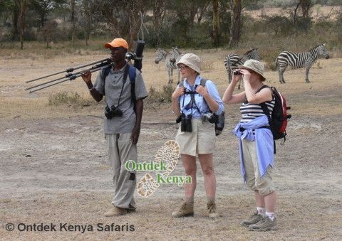 Wildlife safari in Crater Lake, Kenya