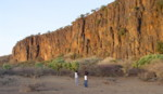 Kenya Walking Holidays: Baringo Cliffs, Kenya.
