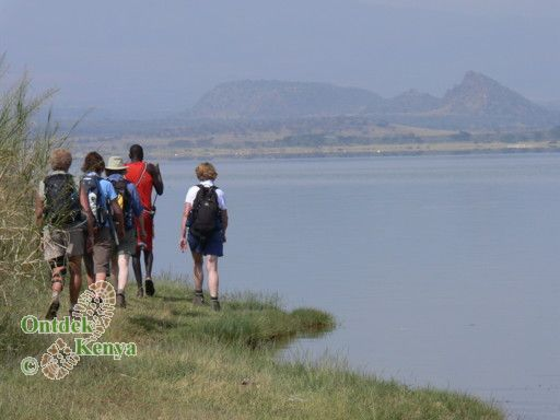 hiking vacation in Kenya, Lake Elementaita