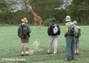 Kenya hiking vacations Crater Lake Nature Reserve