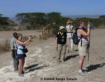 African walking holidays for women, hiking safari Kenya Africa