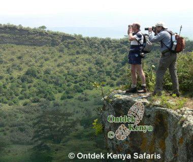 African photography vacations, Crater Lake Kenya