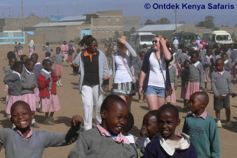 International High School Trips in Kenya