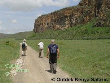 60 plus safari,wandelreis,hells gate,hell's gate